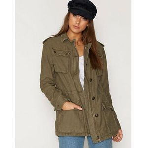 Free People Not Your Brother's Surplus Jacket - S